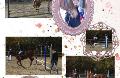 Emma à cheval