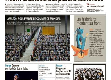 Le Journal Le Monde Week-end Du 04/02/2017