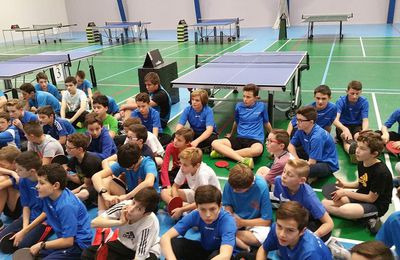 SECTEUR DE TENNIS DE TABLE : 3 PODIUMS FACE A L'ARMADA FOUGERAISE !