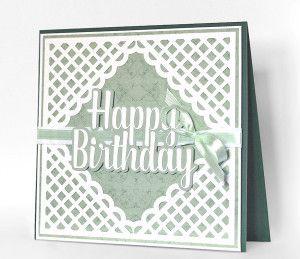 Fichier silhouette gratuit happy birthday carte