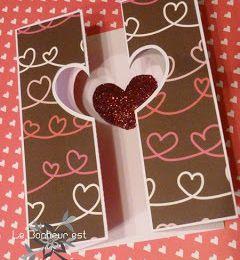Fichier gratuit sst silhouette studio carte saint valentin coeur ajouré