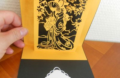 Fichier silhouette sst gratuit kirigami au pays du soleil levant