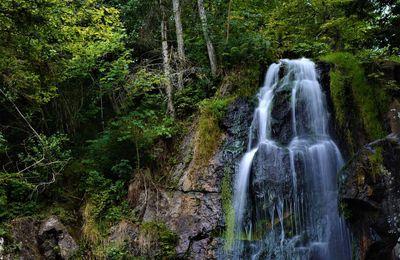 La cascade du Hohwald.....