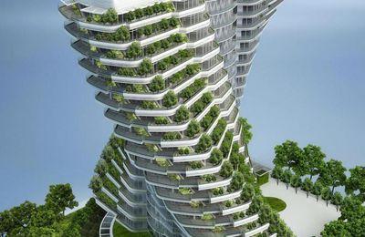 Edifices ecolos : Agora Garden