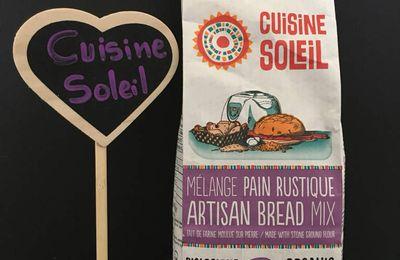 À découvrir: Mélange de pain rustique de Cuisine Soleil