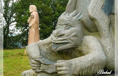 Les granits de Bretagne (vallée des saints Carnoet 22)