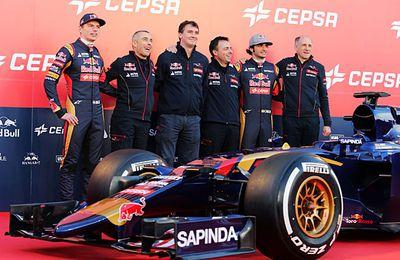 F1 - Présentation F1 2015 - Toro Rosso