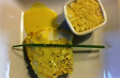 Filet de julienne coco et curcuma