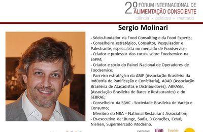 Sergio Molinari - - 2º Forum Internacional da Alimentação Consciente.