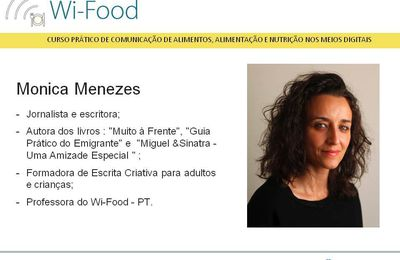 Monica Menezes - Prof. Wi-Food - PT