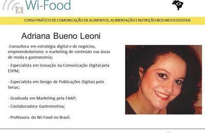 Adriana Bueno Leoni - Prof. Wi-Food - BR.