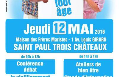 Journée Bien vieillir à tout âge, à Saint-Paul-Trois-Châteaux