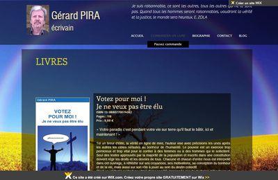 Site de Gérard PIRA - Ecrivain