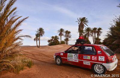 Quelques images de l'arrivée dans le sud marocain...