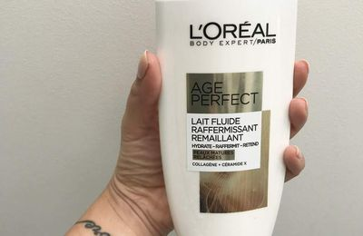 Age Perfect Lait Fluide Raffermissant Remaillant de l'Oréal