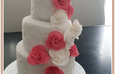 Mon 1er Wedding cake