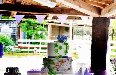 Wedding cake et mariage Champêtre