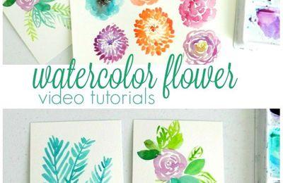 Réaliser de jolis feuillages ou fleurs...