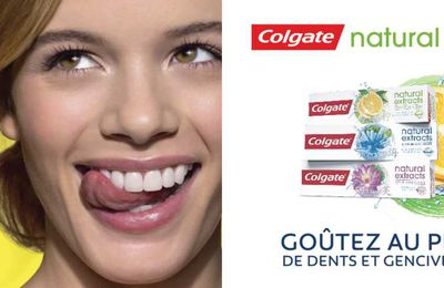 Test Colgate Natural Extracts