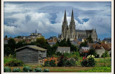 Considérations photographiques autour de la Cathédrale de Sées et du château de Sassy, par Christian D...