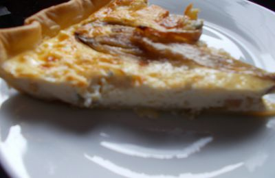 quiche aux endives gorgonzola