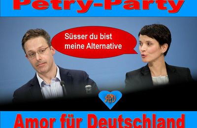 AFD die PERTY-PARTY.? LIEBESCLUB ODER ALTERNATIVE VERNUNFTSPARTEI.?
