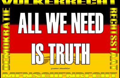Leute organisiert Petitionen,  damit Präsident Trump einen amerikanischen Informationssender für Deutschland installiert.