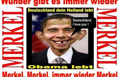 Merkel, Merkel, nur noch Merkel.