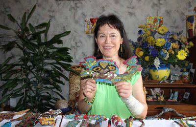 Maryvonne Maciulewicz se lance dans l'art premier