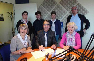 La Communauté de Communes Sud Sarthe partenaire de Contact FM