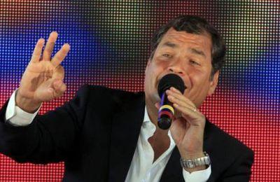 Rafael Correa expose en Italie les acquis socio-économiques obtenus en Équateur