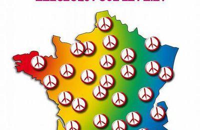 Le 23 septembre, manifestations de partout pour la Paix !