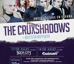 The Crüxshadows en España