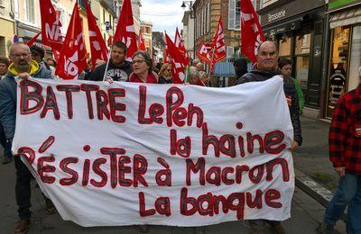 1er MAI A EVREUX, UN 1er PAS TIMIDE SUR LE CHEMIN DE LA RESISTANCE...