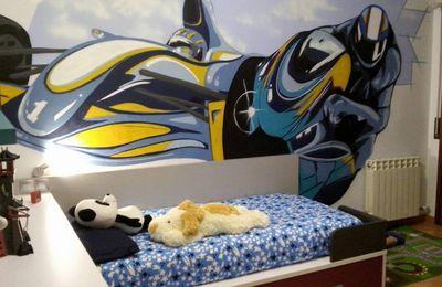 Habitacion Infantil Moto GP y F1 para Pol