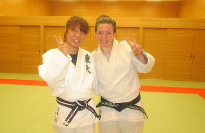 Rappel...Deux invités japonais au Dojo !