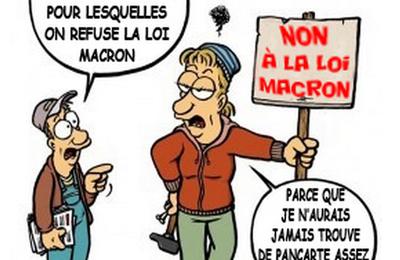 Mardi 12 septembre : grève et manifestation contre les projets de Macron, une loi Travail N°2