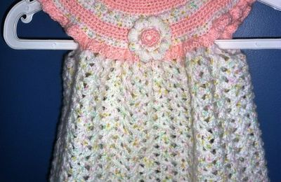 Layette fillette au crochet