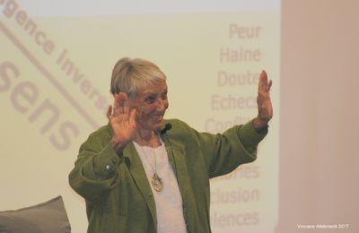 """Conférence """"La vie en abondance"""" par Irène Grosjean ce 7 avril à Bruxelles - Photos"""