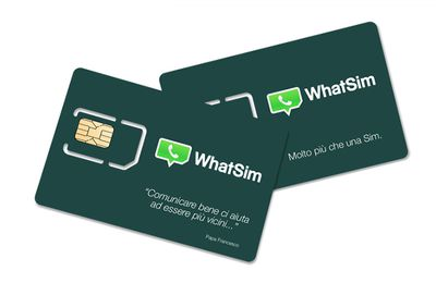 La WhatSIM, la SIM card per chattare in tutto il mondo