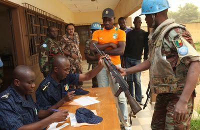 CENTRAFRIQUE: La semaine du désarmement