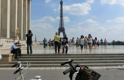 Paris, by bike