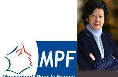 Elections Présidentielles 2017 : réaction de Véronique Besse (députée MPF) à propos de la victoire de Macron