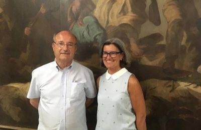 Marie-France Lorho (députée Ligue du Sud, suppléante de Jacques Bompard) soutient les éleveurs bovins face aux anti-viande (végans)