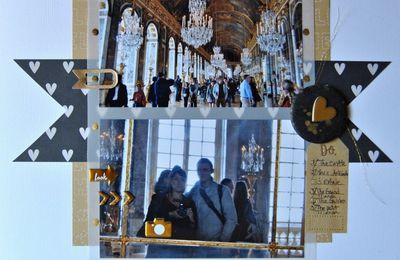 The Hall Of Mirrors / La Galerie Des Glaces