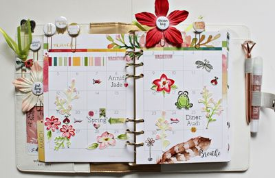 My Cocoa Daisy March 2017 Planner