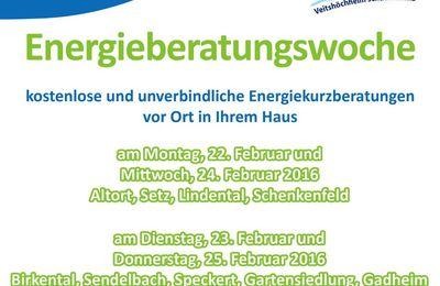 Klimaschutz Veitshöchheim: Gemeinde bietet eine Woche lang kostenlose Vor-Ort-Energieberatungen an