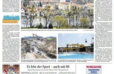 Heimat hat Zukunft in Veitshöchheim - Abschluss-Artikel MP vom 17.1.2016: Lebenswert – für Alt und Jung