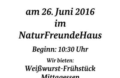 SPD-Ortsverein Veitshöchheim lädt am 26. Juni zum Sommerfest ins Naturfreundehaus ein