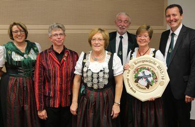 Überraschung bei der 50. Königsproklamation der Veitshöchheimer Sportschützen